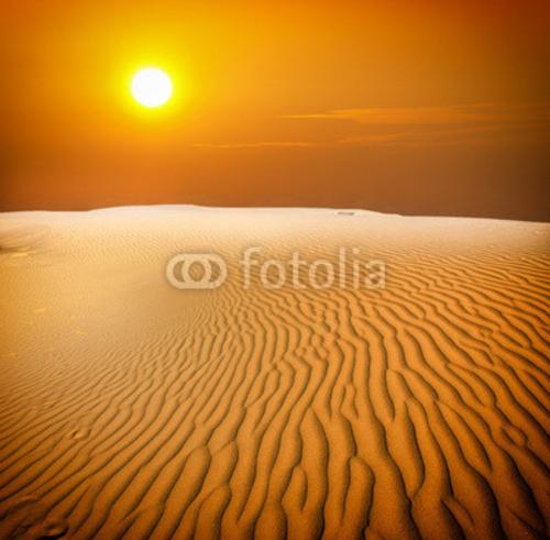 Bild-auf-Poster-034-Sunset-over-the-Sahara-Desert-034