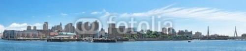 Bild auf Leinwand   City of Boston Panorama