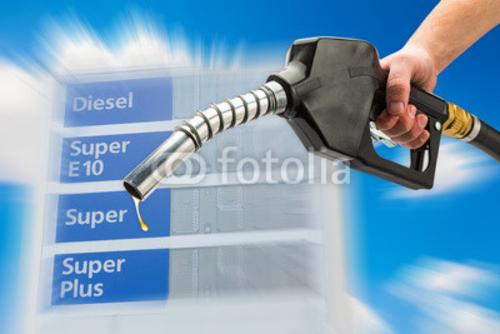 Bild auf Poster   Benzin Diesel E10 Kraftstoff Preise